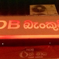 Photo taken at NDB Bank by Vimukthi S. on 10/28/2013