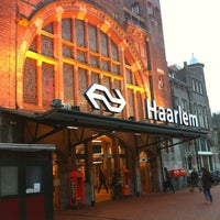 Photo taken at Station Haarlem by Esther H. on 12/18/2012