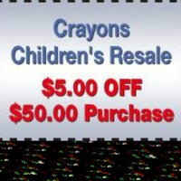 Photo taken at Crayons Children's Resale by Crayons C. on 3/14/2014
