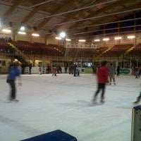 Photo taken at Ice Arena Wales by Fareez F. on 10/28/2012