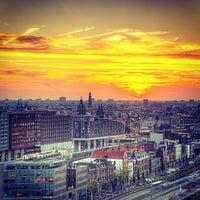 Photo taken at Mövenpick Hotel Amsterdam City Centre by Yuri K. on 10/1/2013
