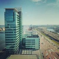 Photo taken at Mövenpick Hotel Amsterdam City Centre by Yuri K. on 9/29/2013