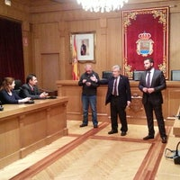 Photo taken at Centro Cultural Diputacion de Ourense by Luis R. on 1/14/2014