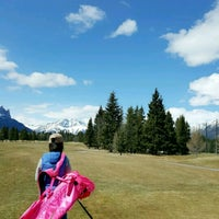 Photo taken at Canmore Golf & Curling Club by Olivia H. on 4/17/2017