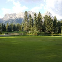Photo taken at Canmore Golf & Curling Club by Olivia H. on 7/18/2017