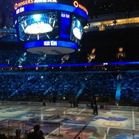 Photo taken at Rogers Arena by Lisa W. on 3/17/2013