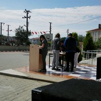 Photo taken at Subaşı ortaokulu by Burcu S. on 5/18/2017