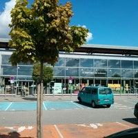 Photo taken at Carrefour Market Scheibenhard by Toshiro H. on 9/9/2013