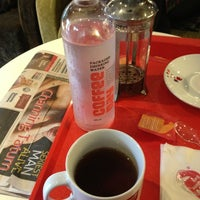 Photo taken at Cafe coffee day by Vinod H. on 12/23/2012