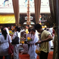 Photo taken at Sri Mahamariamman Temple by Parinda J. on 10/14/2012