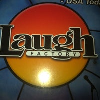 Photo taken at Laugh Factory by Andy A. on 10/17/2012