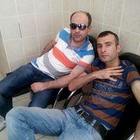 Photo taken at deniz kuaför by Omer T. on 9/14/2014
