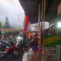Photo taken at Sate kambing Pak Trubus by Adinata D. on 3/6/2013