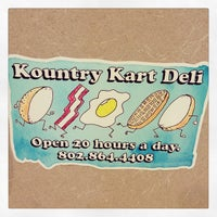 Photo taken at Kountry Kart Deli by Michelle O. on 2/10/2013