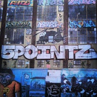 Photo taken at 5 Pointz by Nicolas V. on 5/5/2013