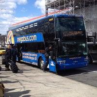 Photo taken at Megabus Terminal - W 34th St & 11 Av by Cristina M. on 3/23/2013