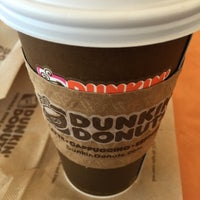 Photo taken at Dunkin Donuts by Dina L. on 2/28/2015