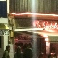 Photo taken at La Caleta by Miquel on 6/20/2015