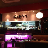 Photo taken at Gokan Sushi Lounge by Adriano C. on 10/26/2012