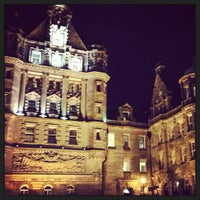 Photo taken at The Scotsman Hotel by Guillaume B. on 12/27/2012
