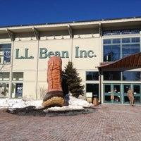 Photo taken at L.L.Bean by Julie W. on 2/18/2013