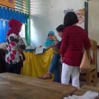 Photo taken at SMP Negeri 1 Kendari by AyuJaya S. on 6/21/2014