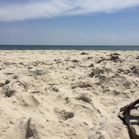 Photo taken at Fire Island Pines Beach by Ryan C. on 7/10/2016