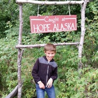 Photo taken at Hope, Alaska by Ludovic R. on 7/14/2015