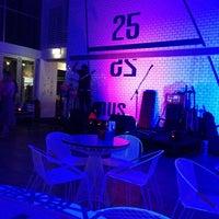 Photo taken at Helm Bar & Bistro by Stig J. on 4/12/2014