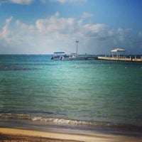 Photo taken at Rum Point Club and Restaurant by Anielka H. on 11/18/2013