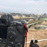 Photo taken at 安中鉄橋 by パンパンマンDX on 3/11/2018