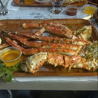Photo taken at Rustic Inn Seafood Crabhouse by Frank L. on 1/14/2013