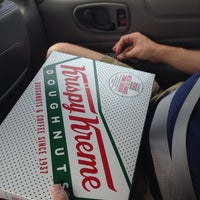 Photo taken at Krispy Kreme Doughnuts by Stephanie H. on 9/1/2014