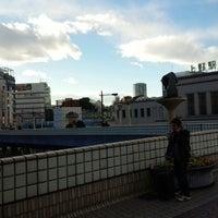 Photo taken at 上野駅 Smoking Area by Icona T. on 12/17/2014