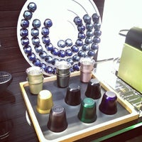 Photo taken at Nespresso Boutique by Dorothy M. on 10/24/2013