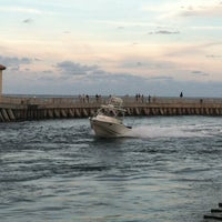 Photo taken at Boynton Beach Inlet by Lovely W. on 10/3/2013