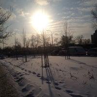Photo taken at Wawrzyszew by Pani K. on 1/27/2014