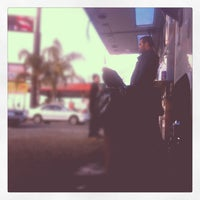 Photo taken at La Penca Azul Taco Truck by Mike M. on 1/11/2013