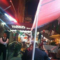 Photo taken at Vincents Italian Restaurant by Angela R. on 9/22/2013