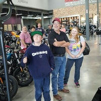 Photo taken at Adam Smith's Texas Harley-Davidson by Scotty C. on 5/9/2016