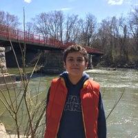 Photo taken at White River Monon Bridge by Jason S. on 3/20/2016