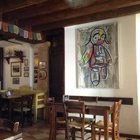 Photo taken at Osteria a la Carega by Oksana G. on 7/10/2013