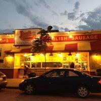 Photo taken at Jim's Original Hot Dog by Raquel R. on 6/12/2013