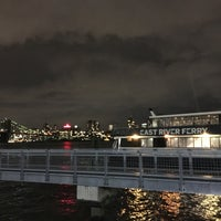 Photo taken at East River Ferry - Wall St/Pier 11 Terminal by Hiroko T. on 1/27/2017