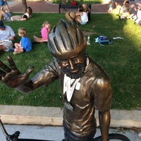 Photo taken at John Breaux Statue by Brian P. on 8/9/2014