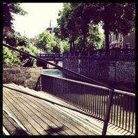 Photo taken at Dijleterrassen by Maarten D. on 6/7/2013