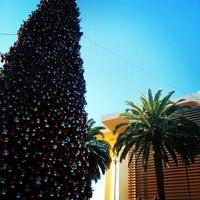 Photo taken at Fashion Island Gigantic Christmas Tree by Chris F. on 12/23/2013