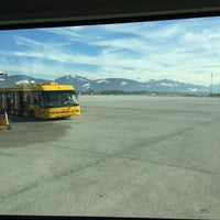 Photo taken at Salzburg Airport W. A. Mozart (SZG) by Jon T. on 2/5/2014