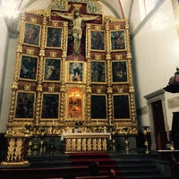 Photo taken at La Parroquia De San Gabriel Arcángel by Anahí R. on 4/11/2017