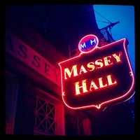 Photo taken at Massey Hall by Graham P. on 9/22/2012